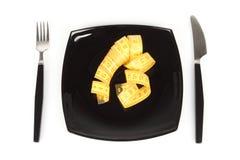 概念节食的极端 库存照片