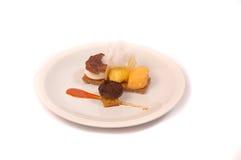 概念营养食物的美食 库存照片