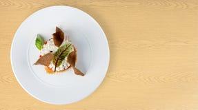 概念营养食物的美食 免版税库存图片