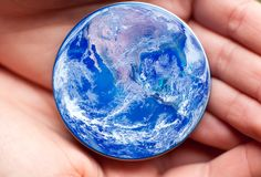 概念行星保存 免版税库存图片