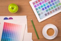 概念设计员图象打印排印错误 免版税库存图片