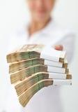 概念财务不可抗拒的聘用 库存图片