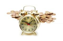 概念货币时间 免版税库存照片
