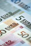 概念货币欧元 免版税库存照片