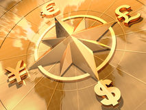 概念货币 库存照片