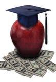概念费用教育 免版税图库摄影