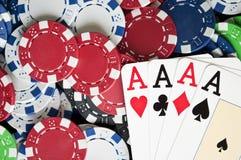 概念赌博 免版税库存照片