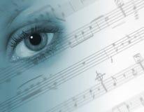 概念音乐 免版税库存照片