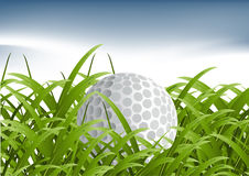 概念高尔夫球体育运动 图库摄影