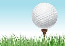 概念高尔夫球 免版税库存图片
