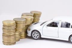 概念:汽车保险 库存图片