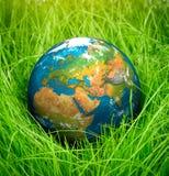 概念-世界地球日 库存照片