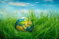 概念-世界地球日 免版税库存图片