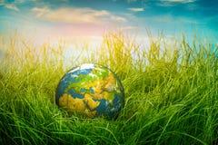 概念-世界地球日 免版税库存照片
