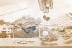 概念货币保存 库存照片