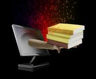 概念ebook电子教学 免版税库存照片
