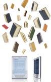 概念ebook电子教学 库存照片