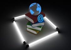 概念ebook 免版税库存照片