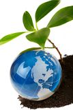 概念eco地球 免版税库存照片