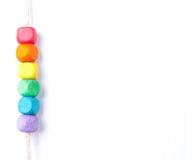 概念LGBT旗子 彩虹旗子 免版税库存照片