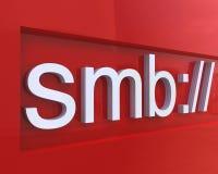 概念smb 库存例证