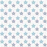 概略星背景 免版税库存图片