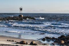 概略的海浪 免版税库存照片