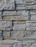 概略的灰岩墙壁纹理 库存图片