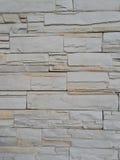概略的灰岩墙壁纹理 免版税库存照片