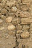 概略的石墙背景 免版税库存照片