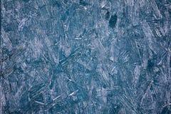 概略的蓝色纹理背景 免版税库存图片