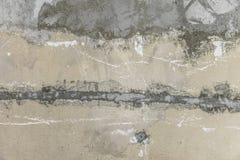 概略的被剥皮的混凝土墙背景 库存图片