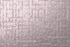 概略的金属浅粉红色的背景 创造性的表面设计的织地不很细概略的金属帆布 向量例证