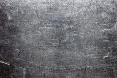 概略的金属纹理、灰色钢或者生铁表面 库存照片