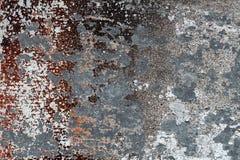 概略的金属表面5上的不同的被剥皮的和被抓的染料 免版税库存照片