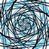 概略的锋利样式或纹理在一颜色和黑色 库存例证
