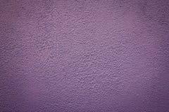 概略的紫色墙壁纹理 图库摄影