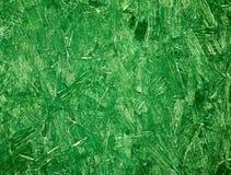 概略的绿色木纹背景纹理 免版税库存图片