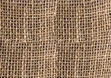 概略的vegeta织品粗麻布帆布自然传统存贮  库存照片
