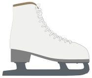 概述剪影冰鞋 免版税库存图片