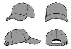 概述模板盖帽 图库摄影
