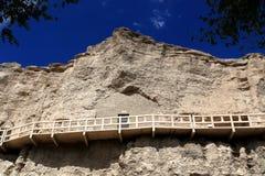 榆林洞穴 免版税库存照片