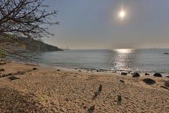 榕树湾,南丫岛香港 免版税库存照片