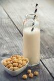榛子牛奶 图库摄影