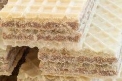 榛子薄酥饼美好的宏指令  库存图片