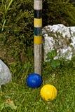 槌球和利益 免版税库存照片