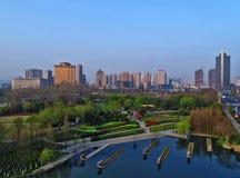 槐`城市,江苏省,中国 免版税库存图片