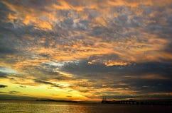 槟榔岛乔治城马来西亚 库存照片