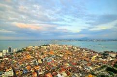 槟榔岛乔治城马来西亚 图库摄影