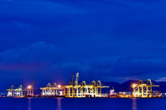 槟榔岛口岸 免版税库存照片
